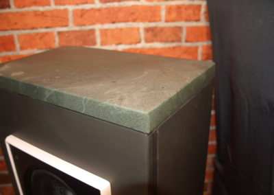 Black Slate and Green Slate bluetooth speaker unit